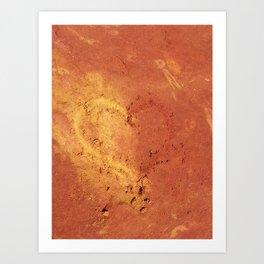 Les Ocres de Roussillon - France Art Print