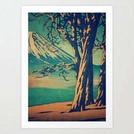 Late Hues at Hinsei Art Print