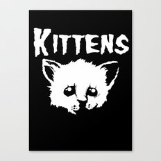Goth Kittens Canvas Print
