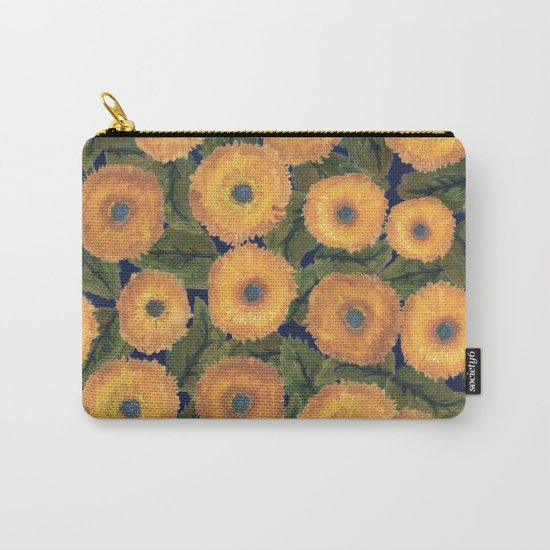 Sunflower afternoon Carry-All Pouch