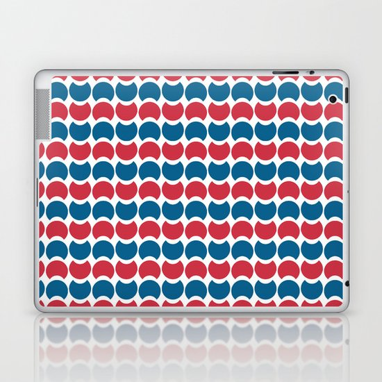 Hob Nob America Stripes Laptop & iPad Skin
