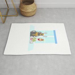 National Clean Up Day Rug