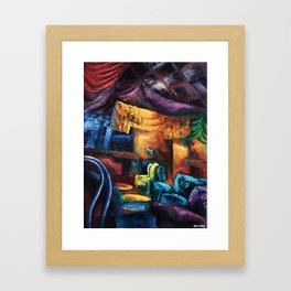 """Opus"" Painting (Reworked, Final Version) Framed Art Print"