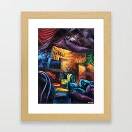 """Opus"" Painting (Reworked, Final Version) Framed Art Print"