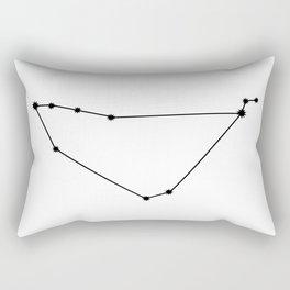 Capricorn Astrology Star Sign Minimal Rectangular Pillow