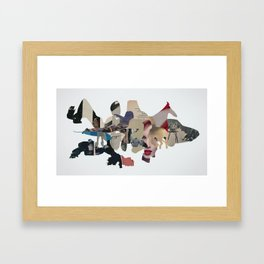 Spirit Animals Framed Art Print