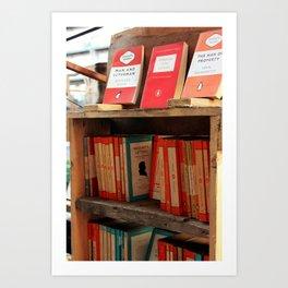 Bookseller Art Print