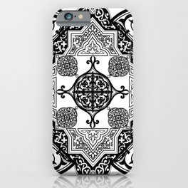 Ethnic Folk Art Mandala Exotic Boho iPhone Case