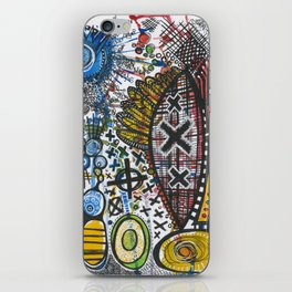 Feathers or Rockets iPhone Skin