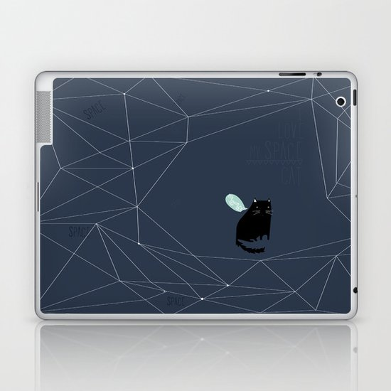my_spacecat Laptop & iPad Skin