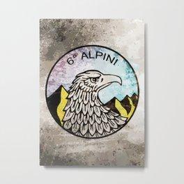 6° ALPINI Metal Print