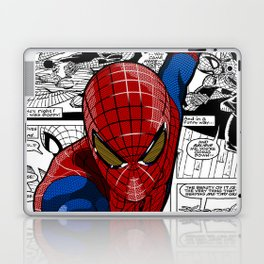 Spider-Man Comic Laptop & iPad Skin