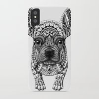bioworkz iPhone & iPod Cases featuring Frenchie by BIOWORKZ