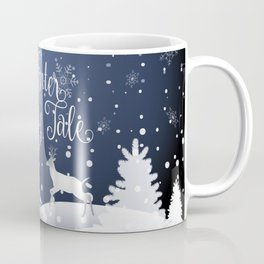 Christmas Winter Fairy Tale Fantasy Snowy Forest - Collection Coffee Mug