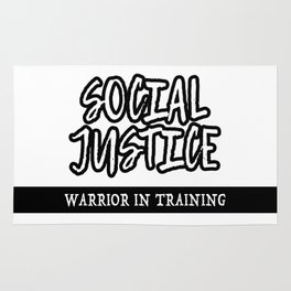 Social Justice Warrior In Training Rug