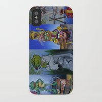 muppet iPhone & iPod Cases featuring Muppet Stretching Room Portraits by Lissyleem