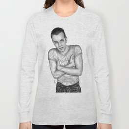 Ewan McGregor Portrait Long Sleeve T-shirt