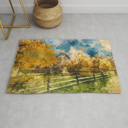 Into the Fields Rug