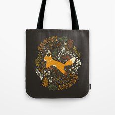 Fox Tales Tote Bag