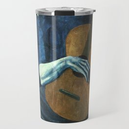 The Old Guitarist - Picasso Travel Mug
