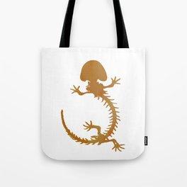 Salamander Skeleton Tote Bag