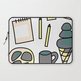 Stress Free - Doodle Zine Page Laptop Sleeve