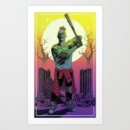 NO SURRENDER Art Print