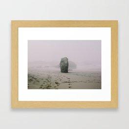 Glass Beach in Fort Bragg, CA Framed Art Print