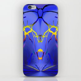 Alien Lightning iPhone Skin