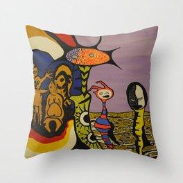 Portal Travelers Throw Pillow