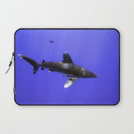 Oceanic Whitetip and Pilot Fish Laptop Sleeve