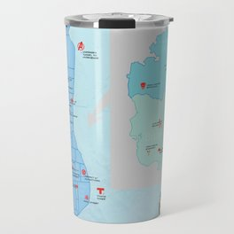New York City- A Comic Book Tour Travel Mug
