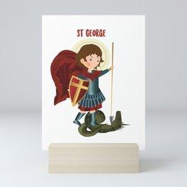 Saint George Mini Art Print