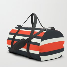 Masanori - Classic Racing Retro Stripes Duffle Bag