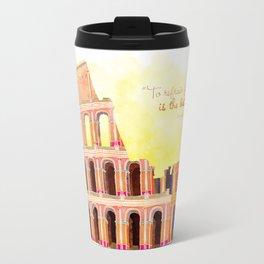 Inspirational Roman Colosseum Travel Mug