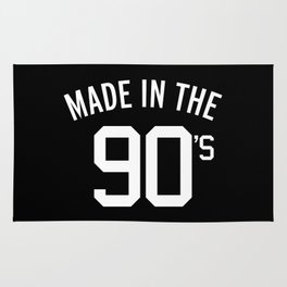 Made In The 90's Quote Rug