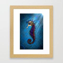 Seahorse for Lala Framed Art Print