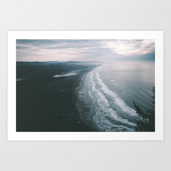 Oregon Coast VI Art Print