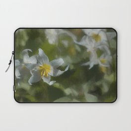 Avalanche Lily Painterly Laptop Sleeve