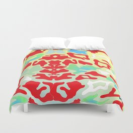 Abstract Organic 1 by Anthea Missy Duvet Cover