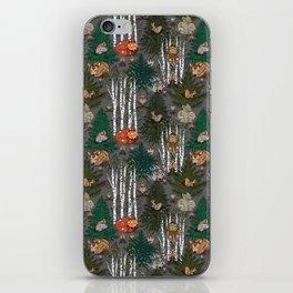 Sleepy Scandinavian Forest iPhone Skin