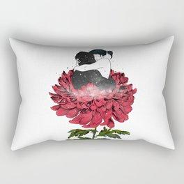 The flowery hug. Rectangular Pillow