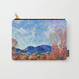 Monet's Surreal Southwest Landscape Carry-All Pouch