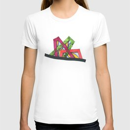 Synagogue Serendipity Geometric Architecture 76 T-shirt