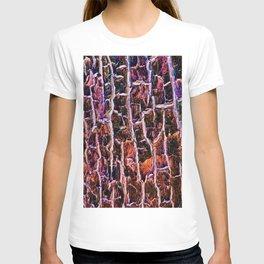 Bright Ruby tree Bark T-shirt