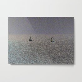 Two Yachts Metal Print