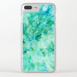 Abstract No. 116 Clear iPhone Case