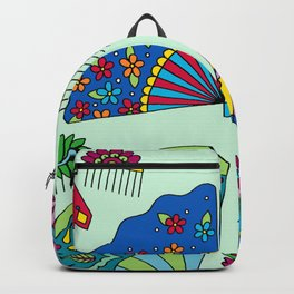 Colorful Fans Backpack
