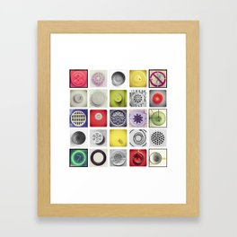 CIRCLE SERIES Framed Art Print