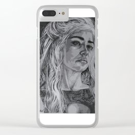 Dragon Mother Clear iPhone Case